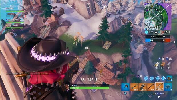 Fortnite Battle Royale - inflige daño desde alturas