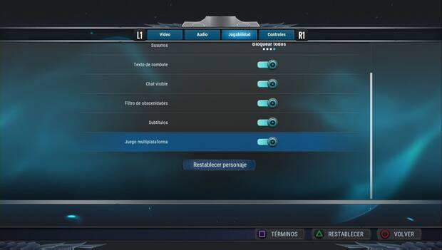 Dauntless - Botón para activar el matchmaking