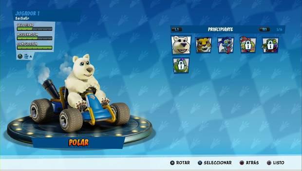 Crash Team Racing Nitro-Fueled: Corredores de tipo Principiante