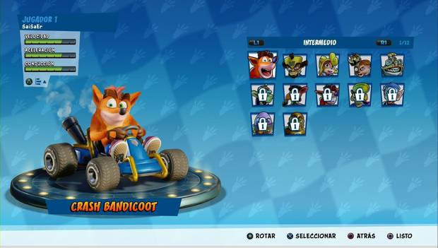 Crash Team Racing Nitro-Fueled: Corredores Equilibrados