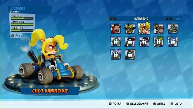 Crash Team Racing Nitro-Fueled: Corredores Acelerados