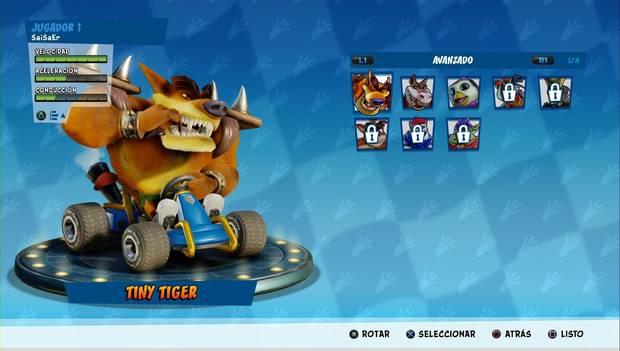 Crash Team Racing Nitro-Fueled: Corredores Avanzados