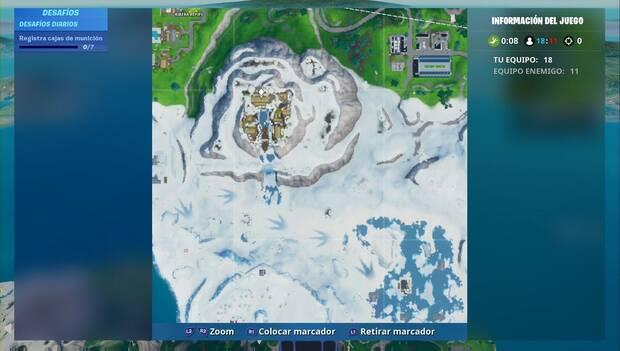 Fortnite Battle Royale - Fortbyte 98: localización del Fortbyte