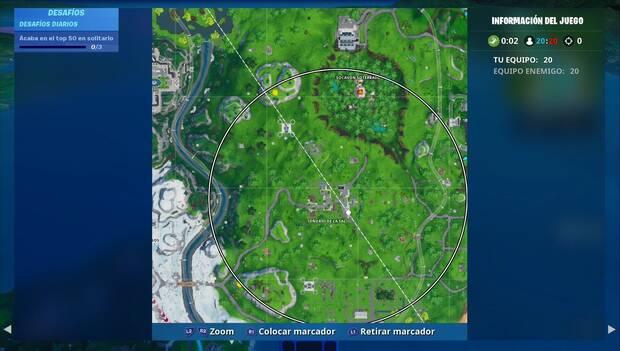 Fortnite - Fortbyte #20: aparición de un círculo de tormenta