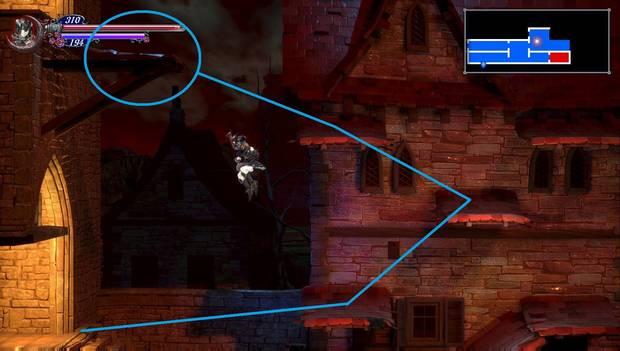 Bloodstained Ritual of the Night - Arvantville: mejora de munición