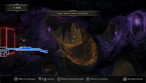 Bloodstained Ritual of the Night: Arvantville - Canal subterráneo prohibido