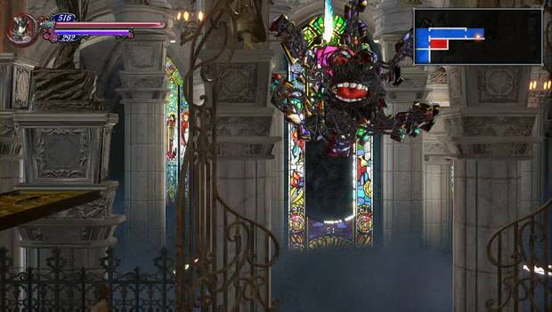 Bloodstained: Ritual of the night - Jefe Vitralus