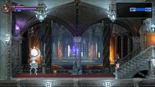 Bloodstained: Ritual of the Night - Catedral de Dian Cécht: atajo y mejora de vida