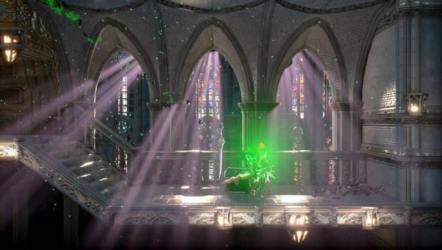 Bloodstained: Ritual of the night - Catedral de Dian Cécht: Familiar caballero argénteo