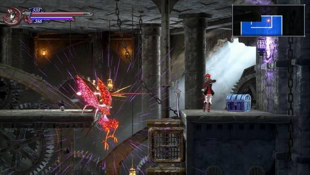 Bloodstained: Ritual of the night - Torre de los Dragones Gemelos: Celeno muerto
