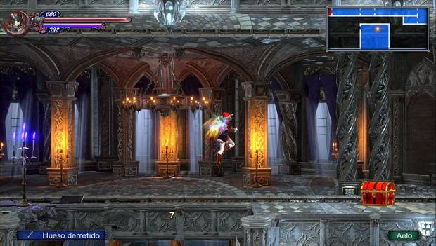 Bloodstained - Librarium Machinae: rebotando sobre un Aelo