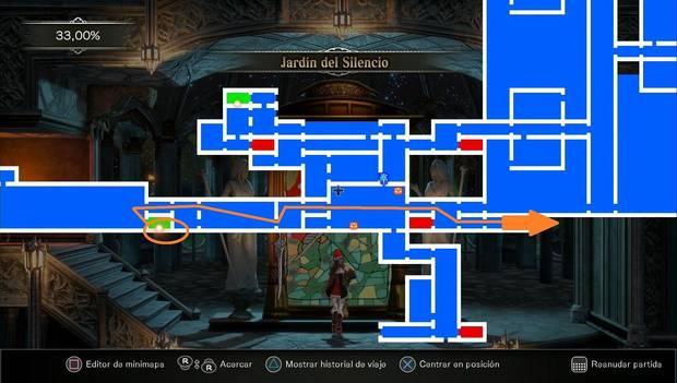 Bloodstained: Ritual of the night - Torre de los Dragones gemelos, segunda parte: destino para avanzar con la historia