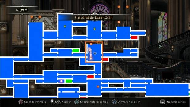 Bloodstained: Ritual of the night - Rayo reflector: siguiente zona a explorar