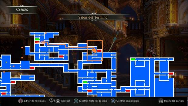 Bloodstained - Canal Subterráneo: destino para usar la Llave Celeste