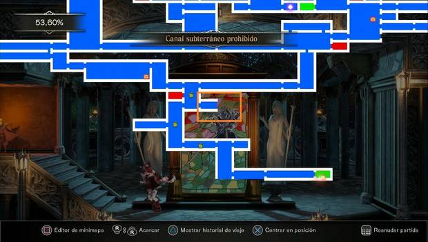 Bloodstained Ritual of the night - Canal subterráneo: Ruta para seguir explorando