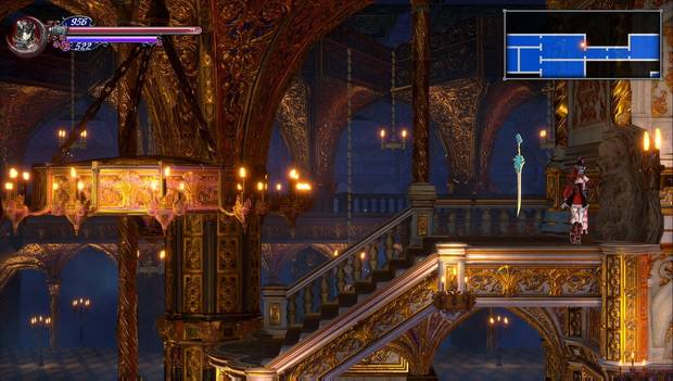 Bloodstained: Ritual of the night - Salón del término: Pared rompible