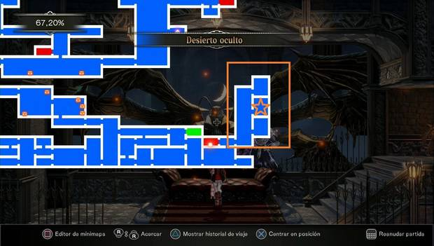 Bloodstained: Ritual of the night - zona donde está la habilidad para bucear
