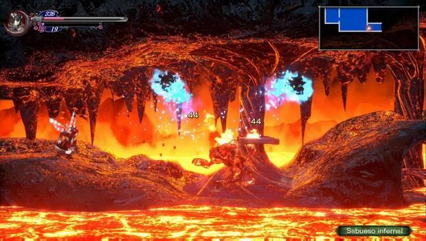 Bloodstained: Ritual of the night - Cueva infernal: sabueso infernal