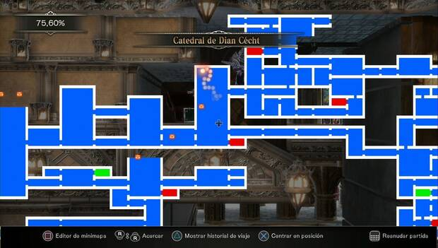 Bloodstained: Ritual of the night - Habitación donde está la Llave del Carpintero