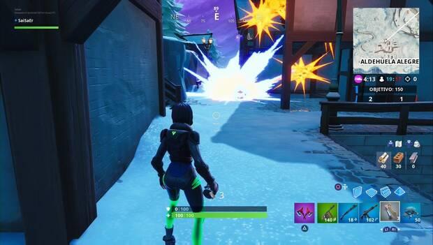 Fortnite Battle Royale - Explosión de granada
