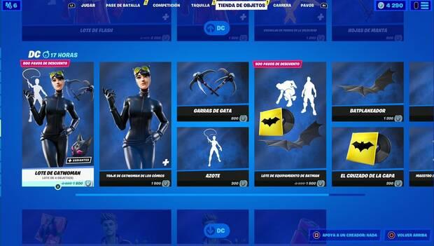 Fortnite - Daily Shop: Catwoman Bundle