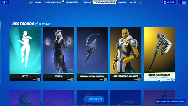 Fortnite - Featured Daily Store June 21