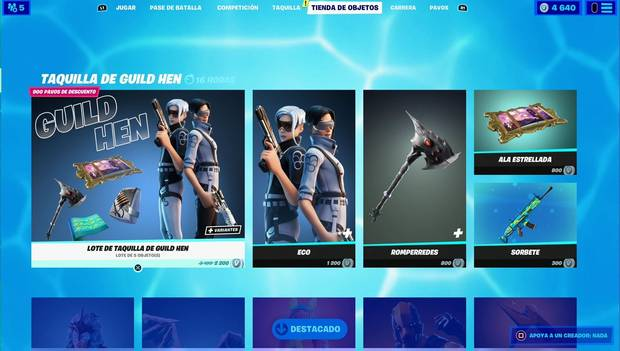 Fortnite - Daily Shop: Guild Box Office
