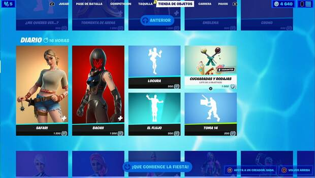 Fortnite - Daily Shop: Daily