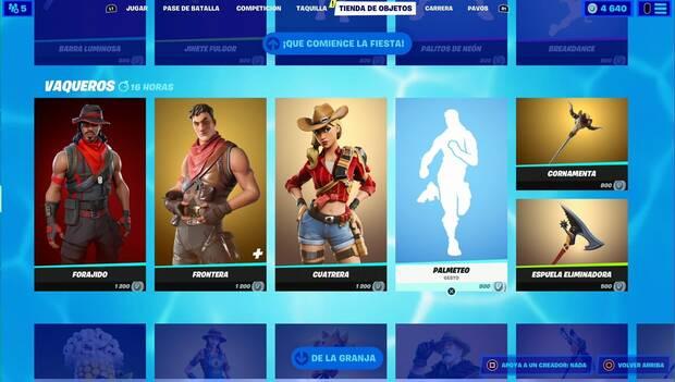 Fortnite - Daily Shop: Cowboys