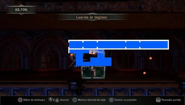 Bloodstained: Ritual of the night - Ubicación del cofre de la Llave del Millonario