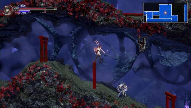 Bloodstained: Ritual of the night - Laboratorio de hechicería oriental: ninja en el laberinto
