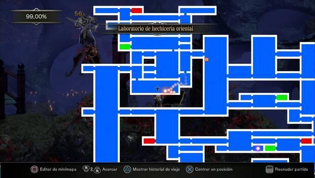 Bloodstained: Ritual of the night - Habitación donde completar la misión de Benjamín