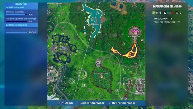 Fortnite - Fortbyte #38: localización de la plataforma más al norte
