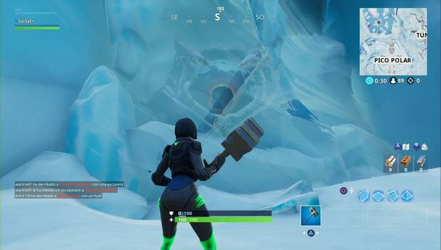 Fortnite Battle Royale - El ojo gigante de Pico Polar
