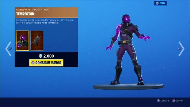 Fortnite - Skins: Tempestad