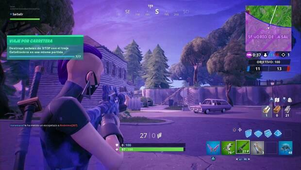 Fortnite - Desafíos de Prestigio: desafío completado