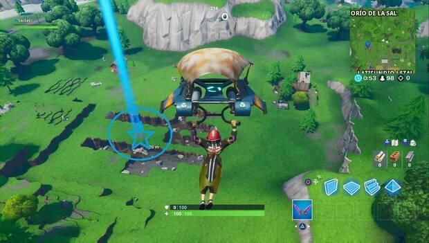 Fortnite - Estrella de batalla secreta 2: zona en la que aparecerá