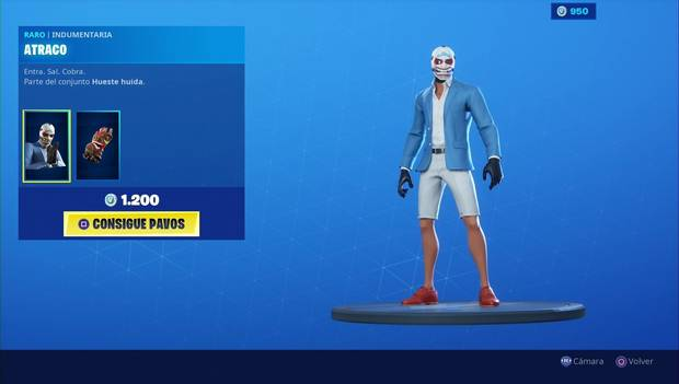 Fortnite - Skins: Atraco