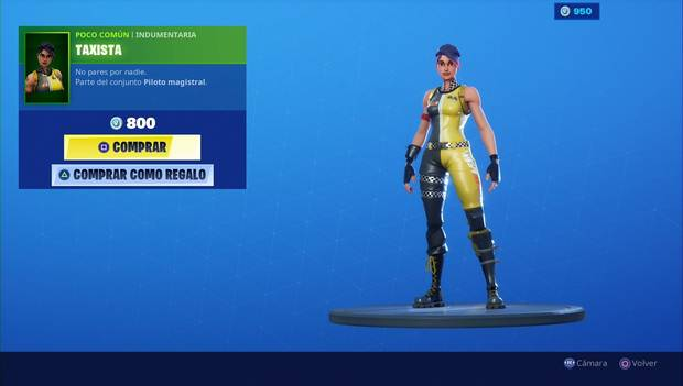Fortnite - Skins: Taxista