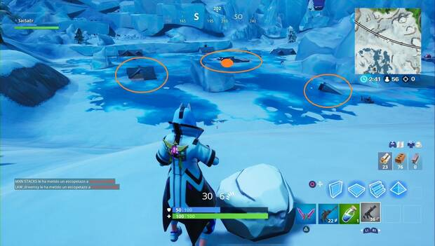 Fortnite - Dónde encontrar el tercer cofre