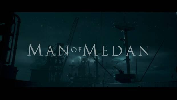 Man of Medan: logo de la historia