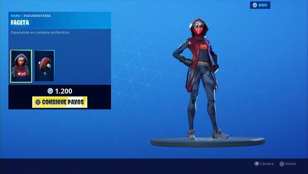 Fortnite - Skins: Faceta
