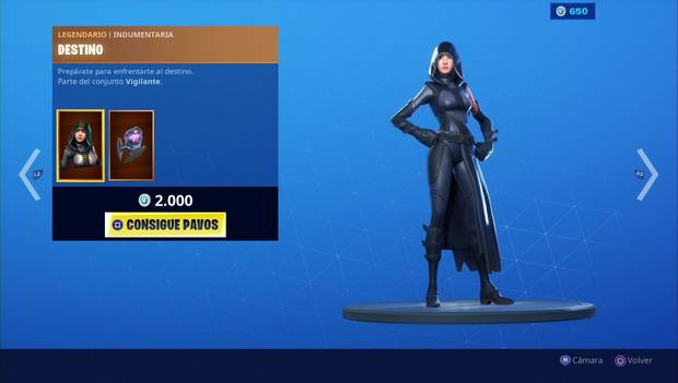 Fortnite - Skins: Destino