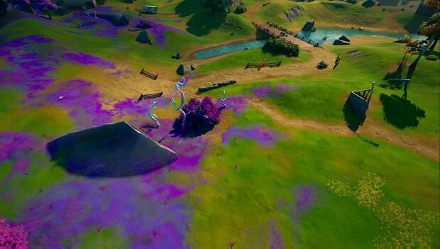 Fortnite Battle Royale - Collect three alien devices