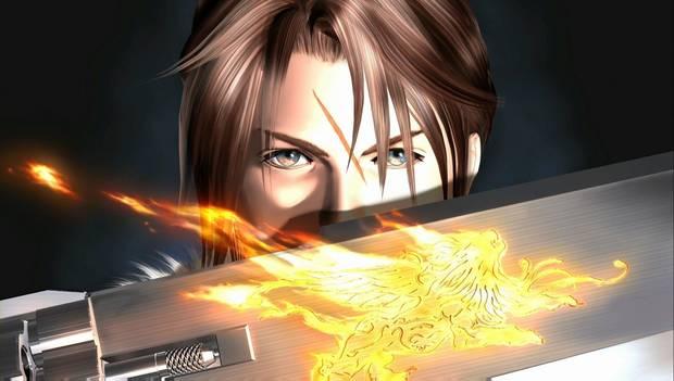 Final Fantasy VIII Remastered - Sable pistola y Squall