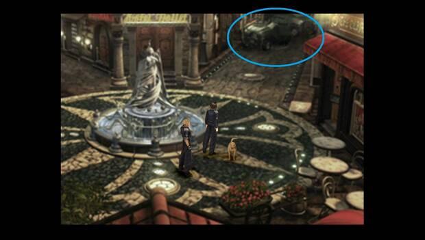 Final Fantasy VIII Remastered - Soldado oculto en la plaza de Dollet