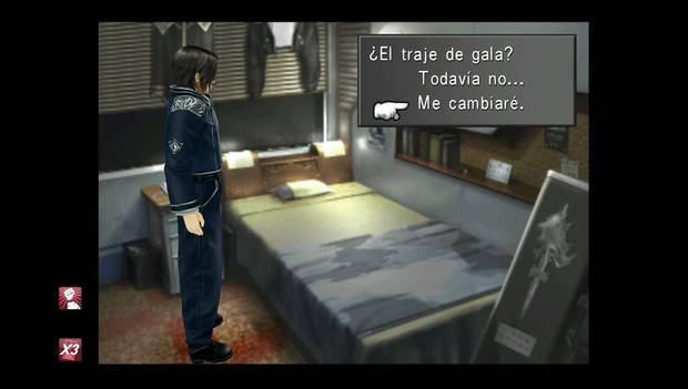 Final Fantasy VIII Remastered - Squall se cambia de ropa