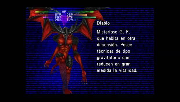 Final Fantasy VIII Remastered - Diablo