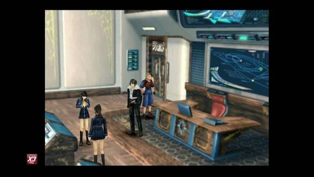 Final Fantasy VIII Remastered - chicas con la carta de Quistis
