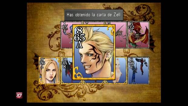 Final Fantasy VIII Remastered - Carta de Zell
